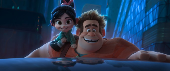 """WORLD WIDE WOW! – Ralph and Vanellope's friendship is challenged when they journey into the internet in search of a replacement part for her game. This vast new world is both incredibly exciting and overwhelming—depending on who you ask. Featuring John C. Reilly as the voice of Ralph, and Sarah Silverman as the voice of Vanellope, """"Ralph Breaks the Internet"""" opens in U.S. theaters on Nov. 21, 2018. ©2018 Disney. All Rights Reserved."""