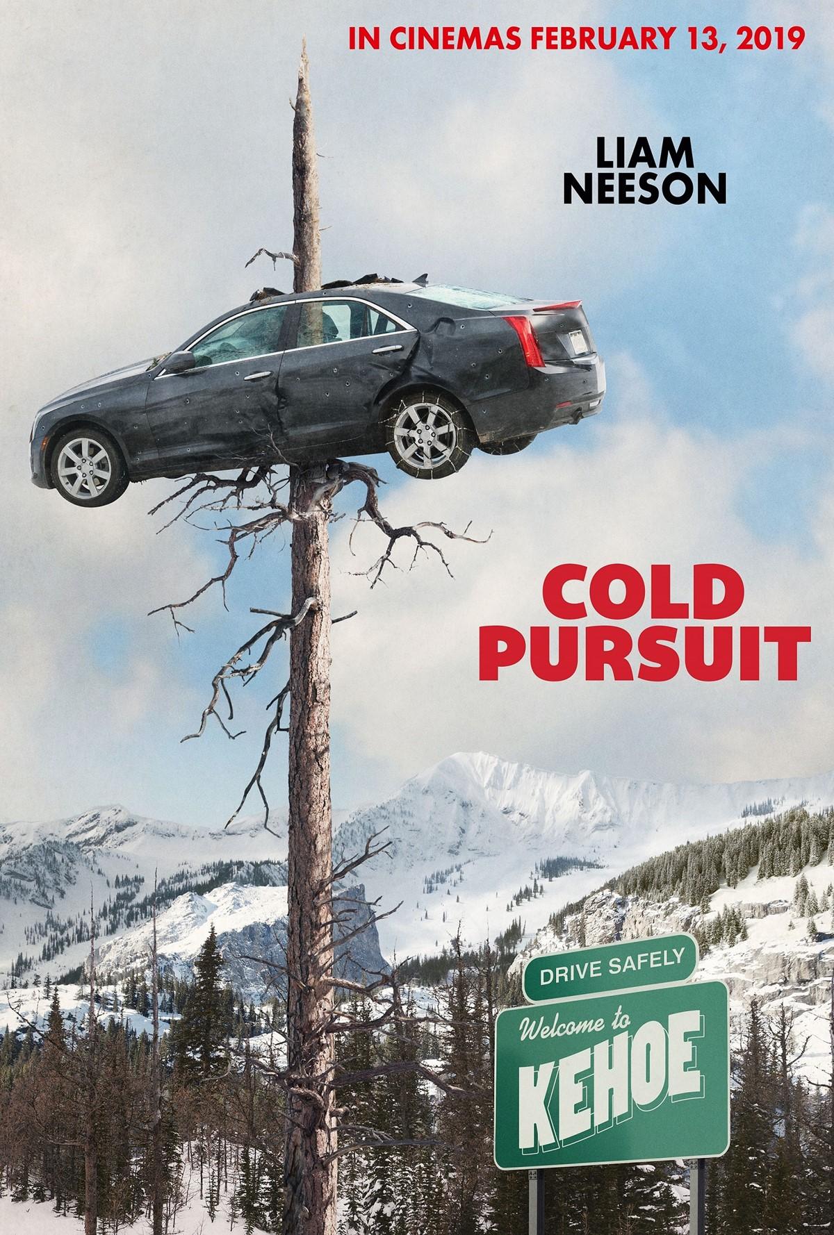 cold-pursuit - teaser poster