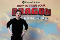 Mandatory Credit: Photo by Frank Augstein/AP/REX/Shutterstock (10070353a) Actor Kit Harington poses in front of a poster at The Hidden World at a special How to Train your Dragon immersive space in London How To Train Your Dragon, London, United Kingdom - 22 Jan 2019
