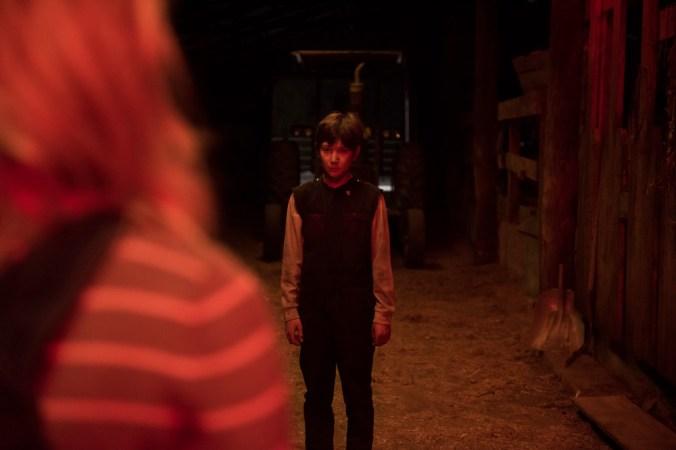Brandon Breyer (Jackson A. Dunn) in Screen Gems' BRIGHTBURN.