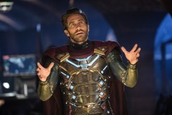 Jake Gyllenhaal is Mysterio in Columbia Pictures' SPIDER-MAN: ™ FAR FROM HOME.