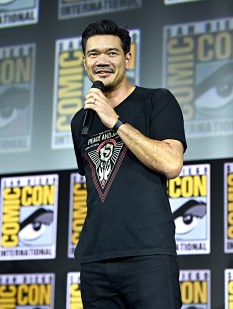 SAN DIEGO, CALIFORNIA - JULY 20: Director Destin Daniel Cretton of Marvel Studios' 'Shang-Chi and the Legend of the Ten Rings' at the San Diego Comic-Con International 2019 Marvel Studios Panel in Hall H on July 20, 2019 in San Diego, California. (Photo by Alberto E. Rodriguez/Getty Images for Disney)
