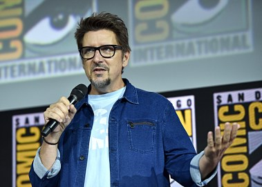 SAN DIEGO, CALIFORNIA - JULY 20: Director Scott Derrickson of Marvel Studios' 'Doctor Strange in the Multiverse of Madness' at the San Diego Comic-Con International 2019 Marvel Studios Panel in Hall H on July 20, 2019 in San Diego, California. (Photo by Alberto E. Rodriguez/Getty Images for Disney)