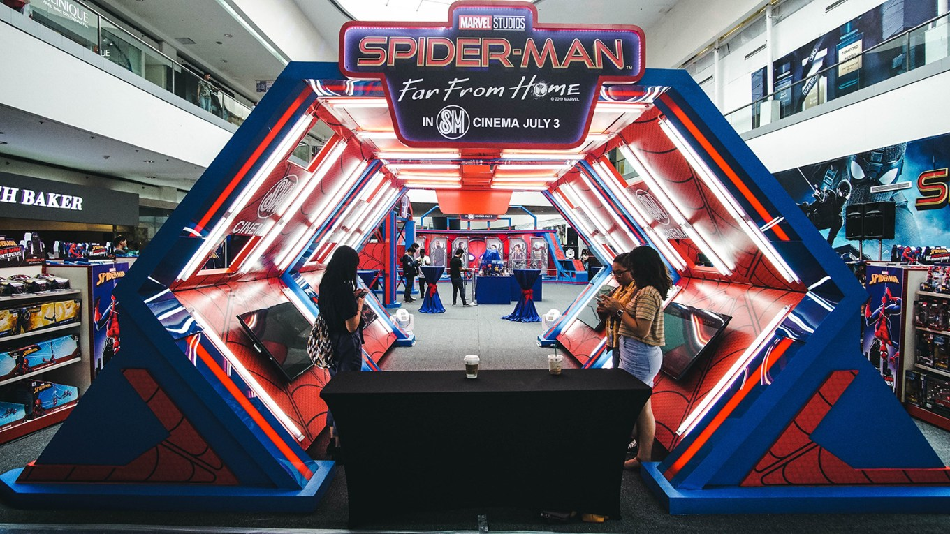 Spider-Man Experience Mall of Asia (2)