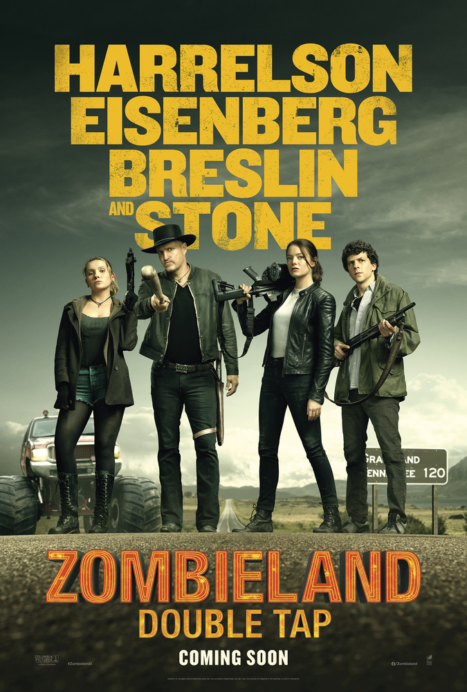 Zombieland Double Tap Poster