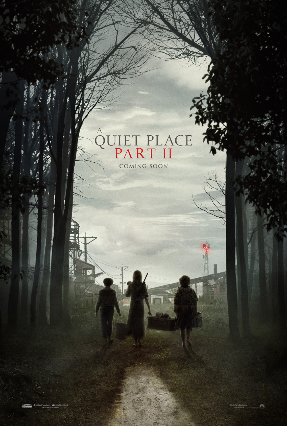 A QUIET PLACE PART II - POSTER