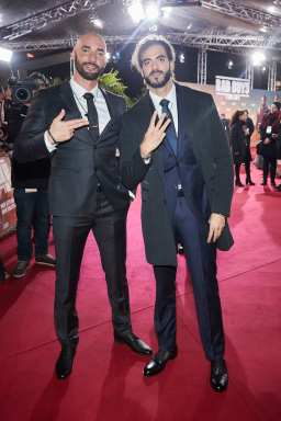 """BERLIN, GERMANY - JANUARY 07: (L-R) Bilall Fallah and Adil El Arbi attend the Berlin premiere of """"Bad Boys For Life"""" at Zoo Palast on January 07, 2020 in Berlin, Germany. (Photo by Sebastian Reuter/Getty Images for Sony Pictures)"""