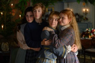 Emma Watson, Saoirse Ronan, Florence Pugh and Eliza Scanlen in Greta Gerwig's LITTLE WOMEN