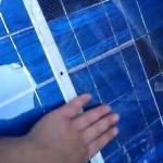 Отремонтированная и собранная Солнечная панель
