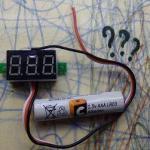 Как подключить обычный вольтметр к АКБ 0.9 — 4 В, чтобы контролировать напряжение на банке.