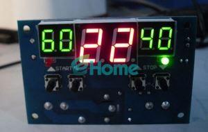 Цифровой интеллектуальный термостат  с питанием от 9 до 15 вольт LED