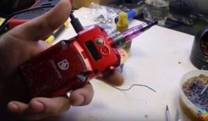 Ремонт электронной сигареты DOVPO своими руками