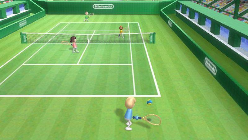 Tennis Wii Sportsissa. Kuva Wikipediasta.