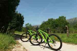 bicycle tour Napoleonov put