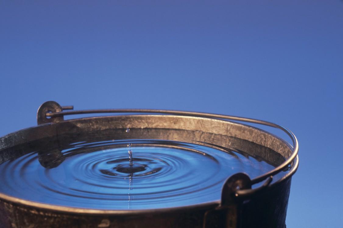 Many drops make a bucketful