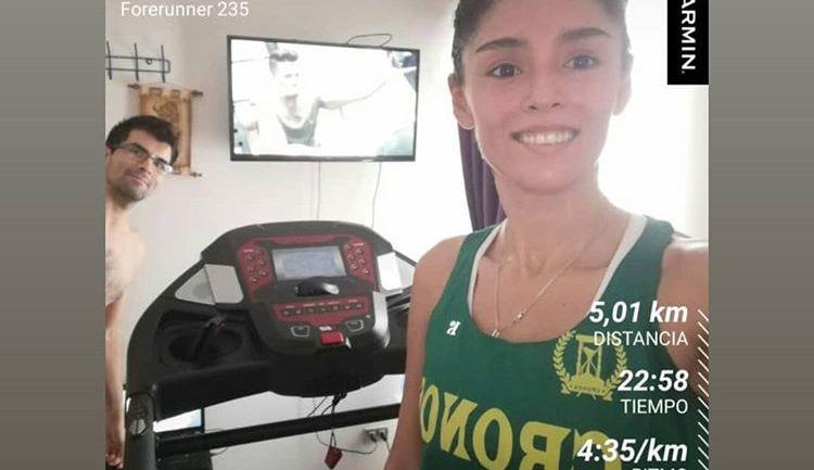 Con gran éxito se vivió la primera Indoor Marathon en Chile organizada por Michelob Ultra para ayudar a los afectados por la pandemia