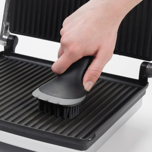 how to clean a grill pan