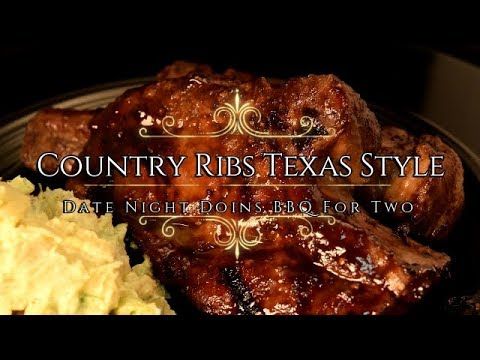 Country Ribs Texas Style on the Green Mountain Wood Pellet ...