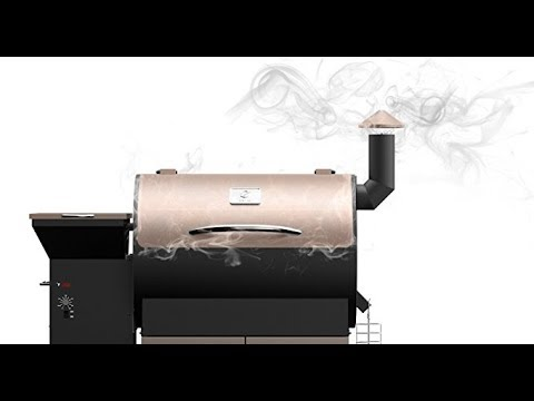 Z Grills Zpg 700d Wood Pellet Barbecue Grill And Smoker