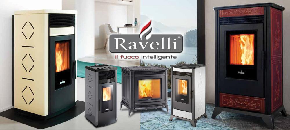 Stove Ravelli R120pellet