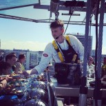 Lunch in the Sky powered by Dinner in the Sky chef of the day Vladislav Djatšuk