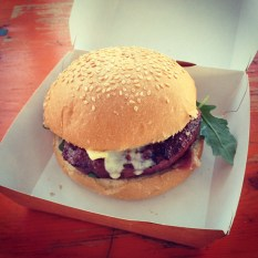 Primavera Sound 2014 food burger