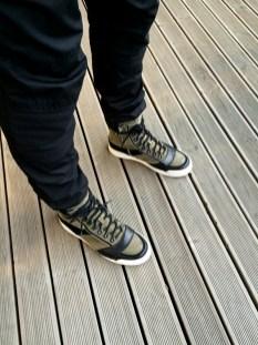 Balmain x H&M jumpsuit look detail (pellissimo.ee) #balmaination