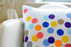 Confetti Pillow - Modern Handcraft