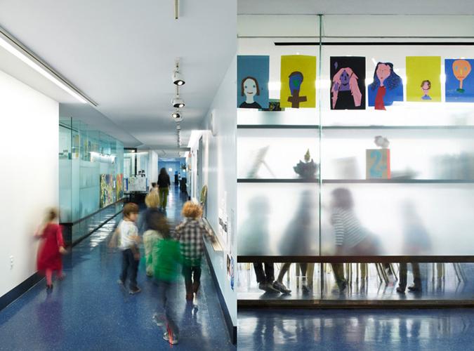 Blue School East Village Pelloverton Architects
