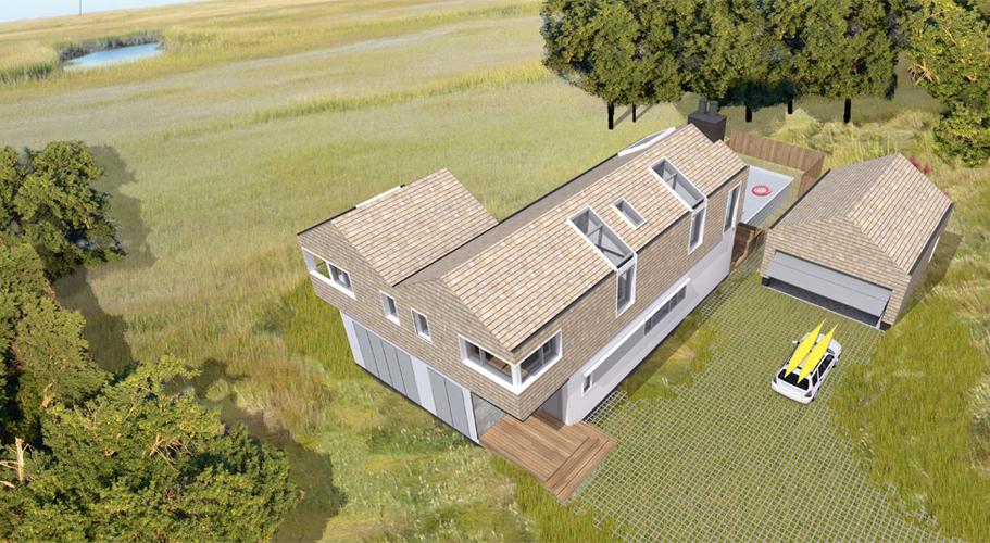 House In Virginia Pelloverton Architects