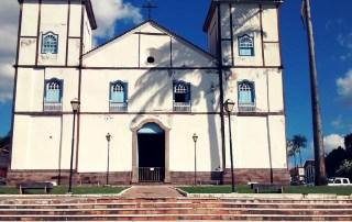 Igreja matriz em Pirenópolis