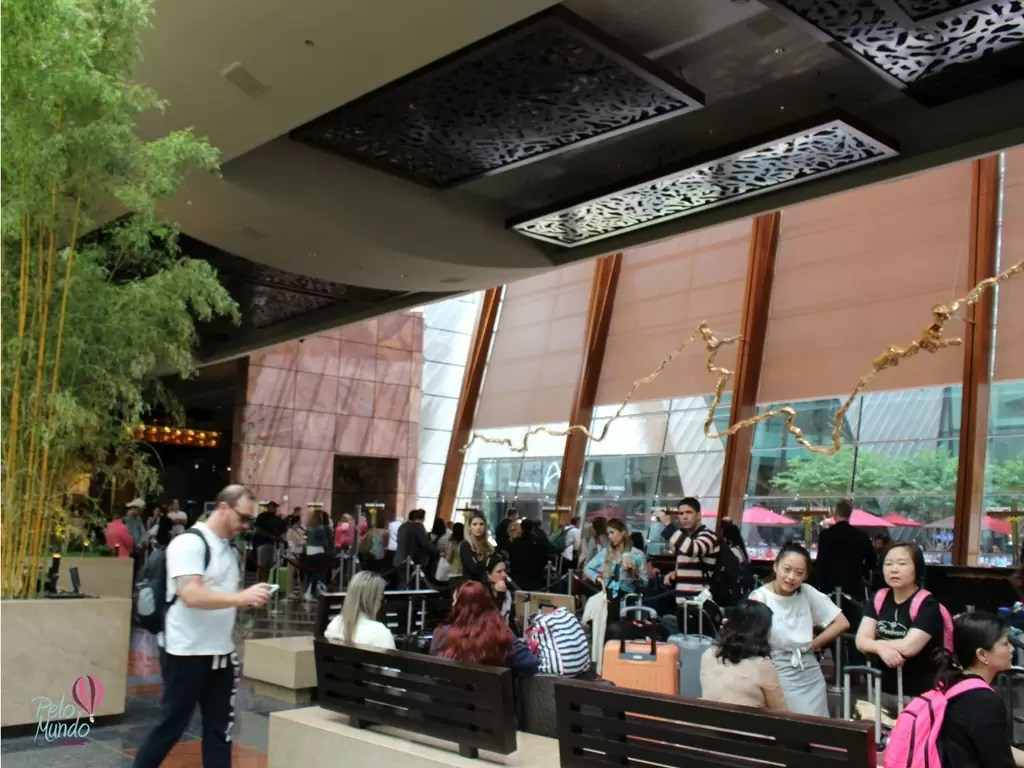 ARIA RESORT & CASINO -HALL DE ENTRADA