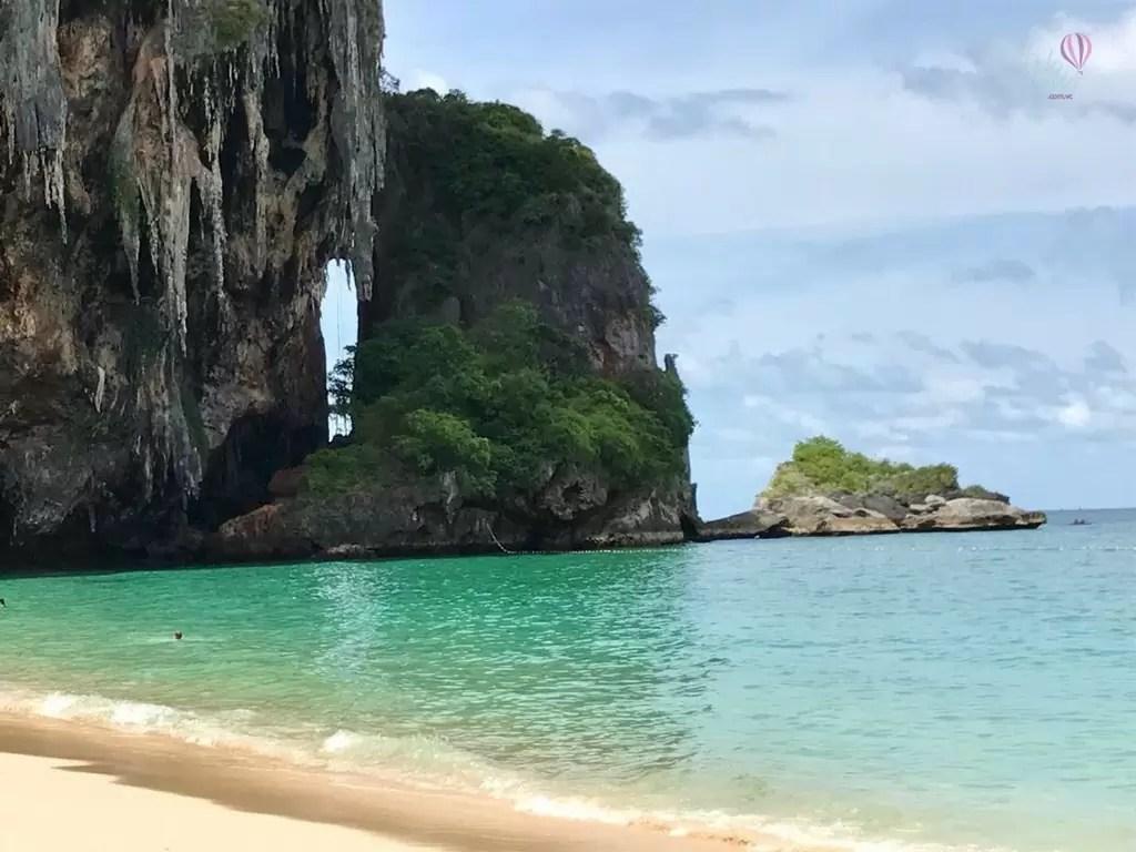 Krabi - Long Tail na praia