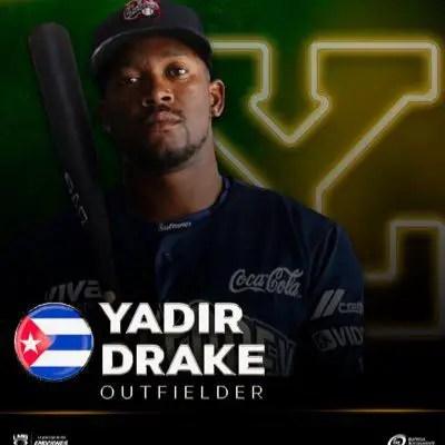 Yadir Drake invitado a los entrenamientos de Yucatán