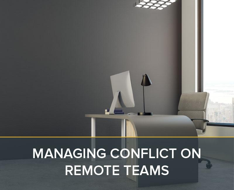 Managing Conflict on Remote Teams - pelotonRPM Simulations