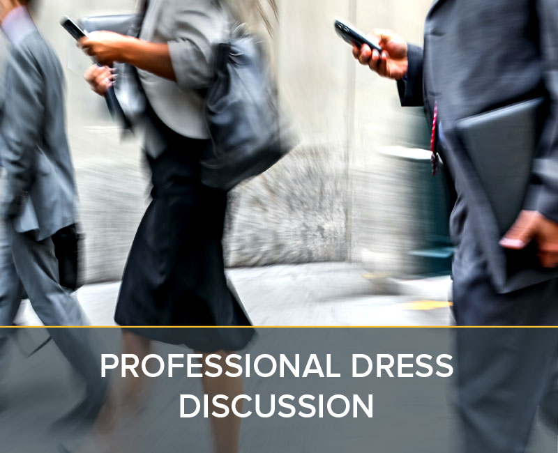 Professional Dress in the Workplace - pelotonRPM Simulations