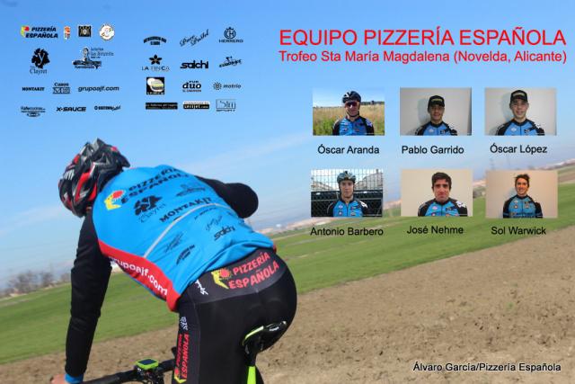 Trofeo Novelda Pizzería Española