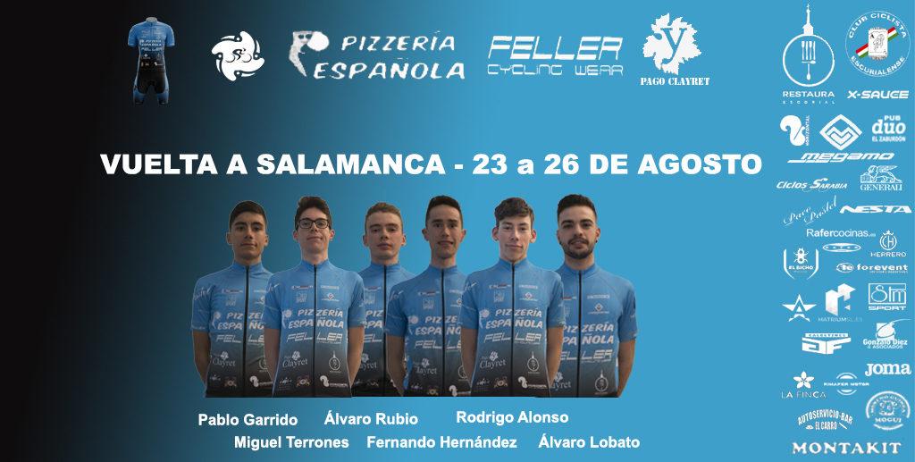 Alineación Vuelta a Salamanca