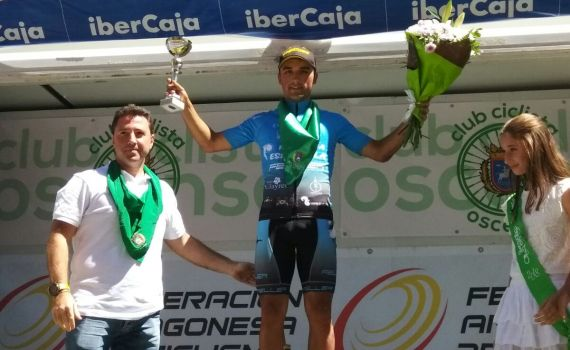 David Martín Huesca Podium
