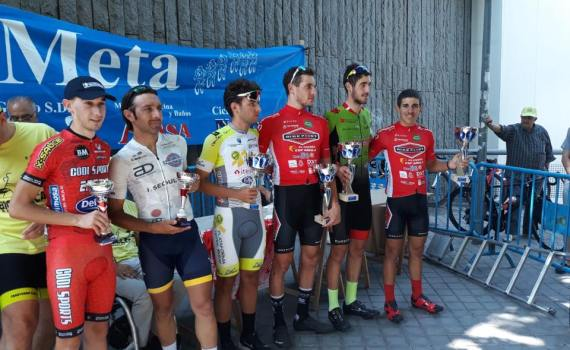 Podium sub-23 Trofeo Carmen Vallecas