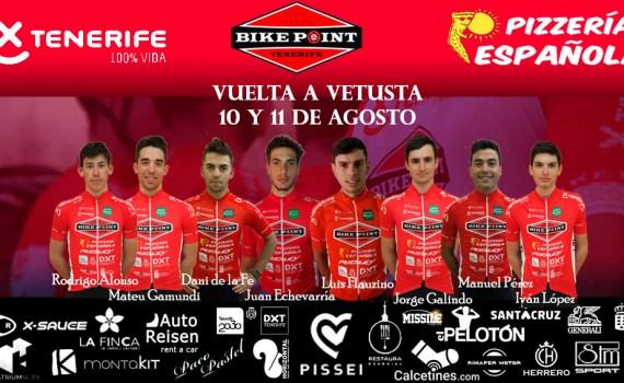Alineación Vuelta Vetusta Tenerife