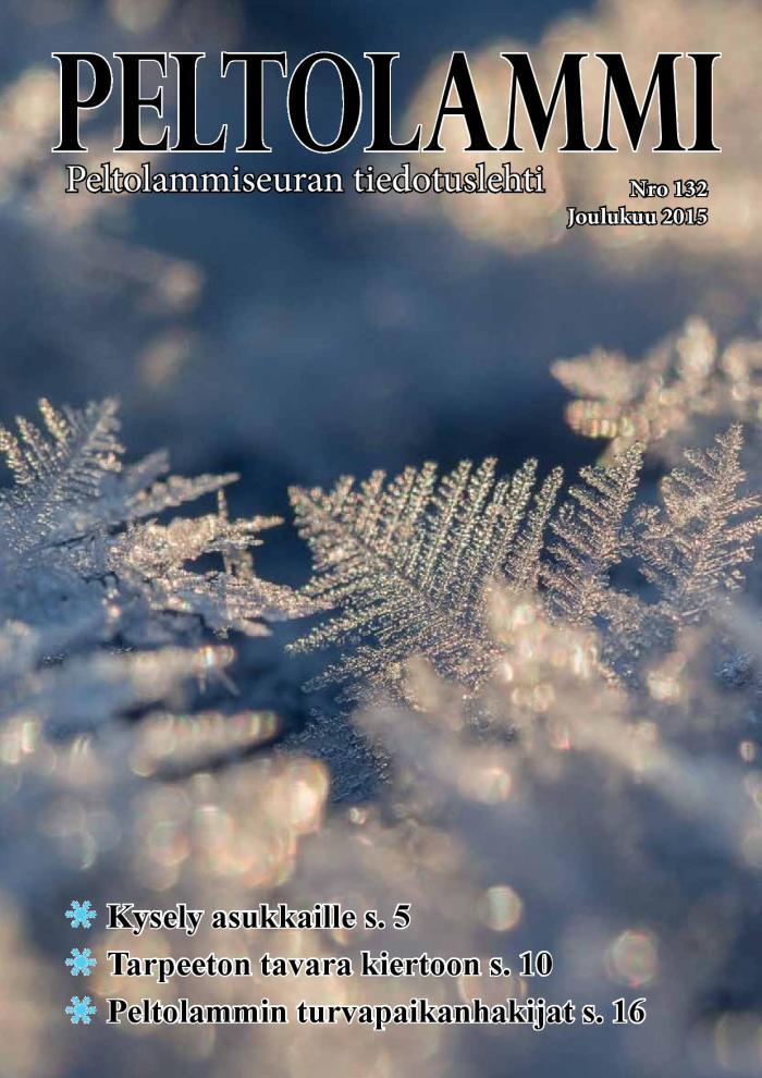 Peltolammilehti NRO 132 Joulukuu 2015