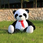Oso panda de peluche gigante