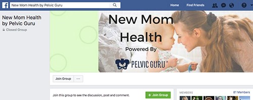 pelvic-guru-new-mom-health-facebook-group