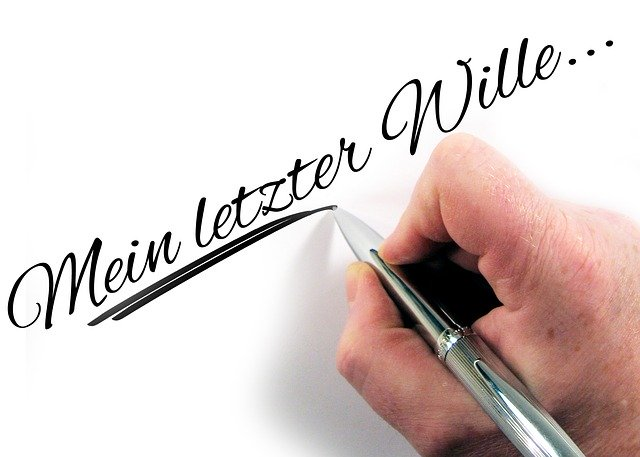 Mein letzter Wille