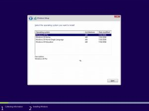 Cara install windows 10