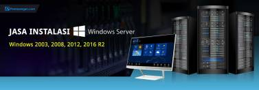 Jasa instalasi windows server