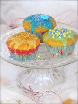 Fairy Cakes {Cupcakes para Hadas}