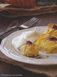 Peach & Raspberry Frangipane Tart {Tarta de Melocotón y Frambuesa con Crema de Almendras}