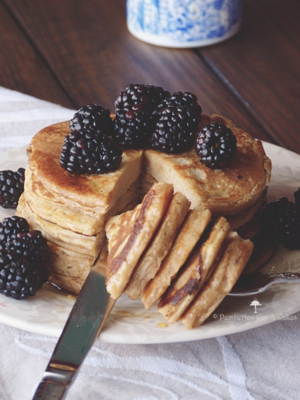 Buckwheat Pancakes {tortitas de trigo sarraceno}